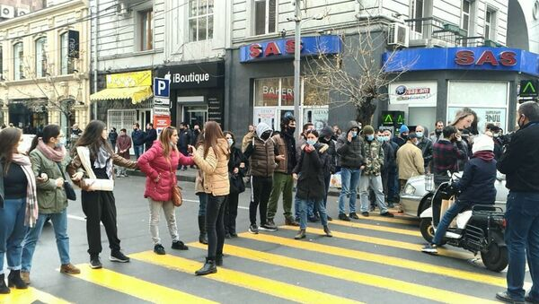 Protest u Jerevanu - Sputnik Srbija