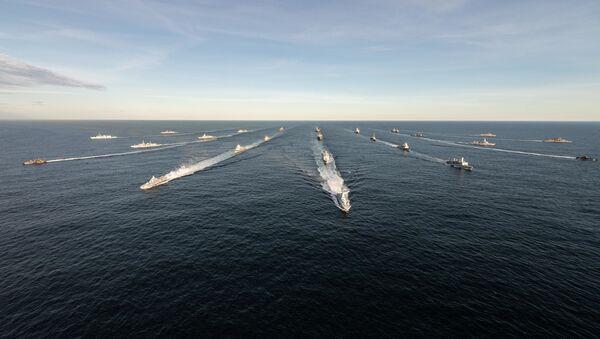 Zajedničke vojne vežbe snaga NATO-a, uključujući Island, Švedsku i Finsku, u vodama Severnog Atlantika i Baltičkog mora - Sputnik Srbija