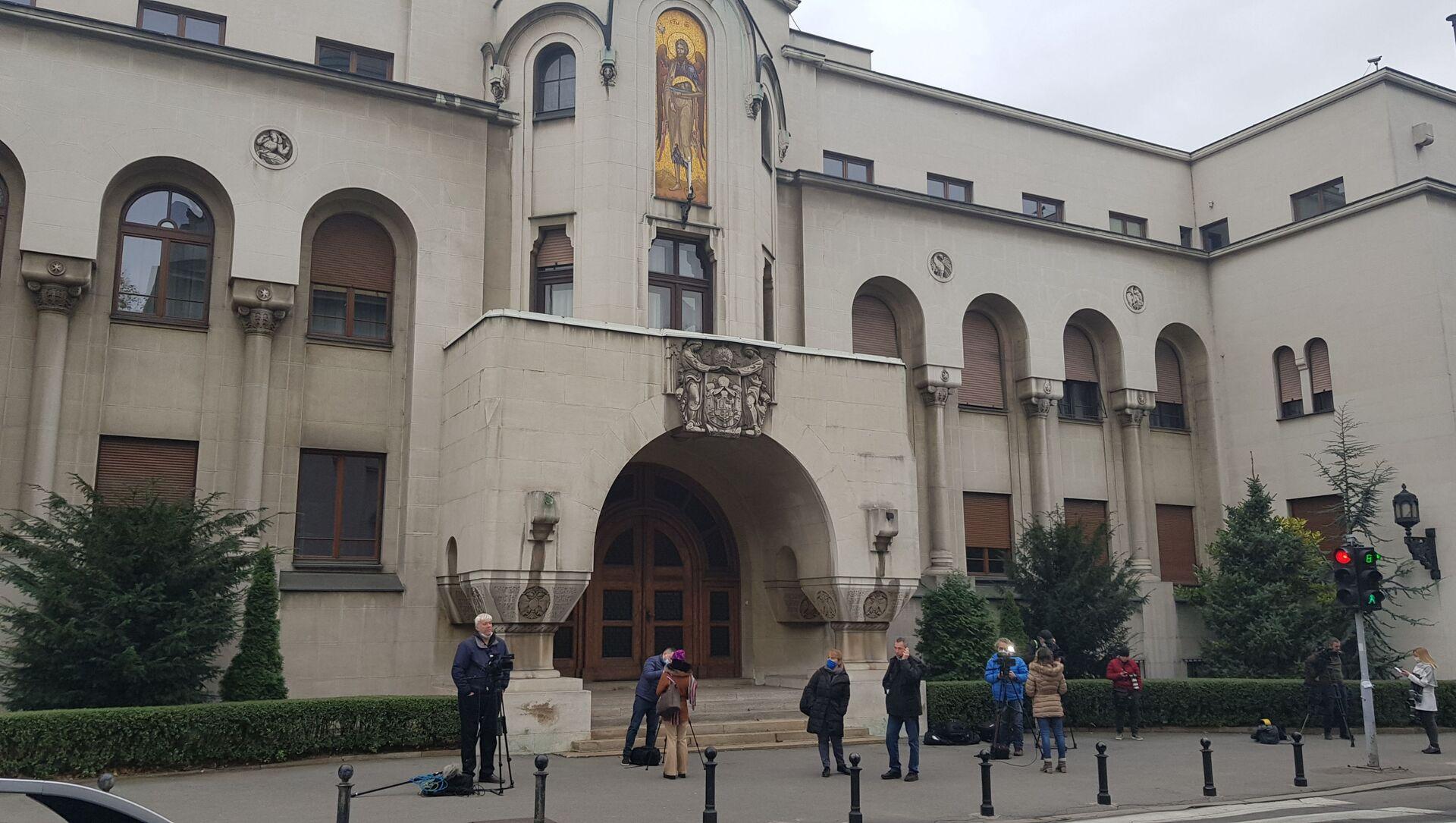 Зграда Патријаршије - Sputnik Србија, 1920, 25.03.2021