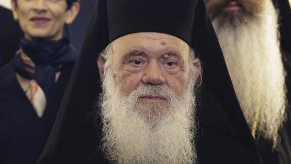 Poglavar Grčke pravoslavne crkve, atinski arhiepiskop i cele Grčke Jeronim - Sputnik Srbija