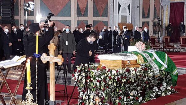 Ivica Dačić na sahrani patrijarha Irineja. - Sputnik Srbija