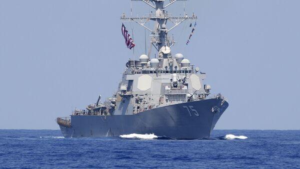 Амерички ракетни разарач Доналд Кук на Средоземном мору - Sputnik Србија