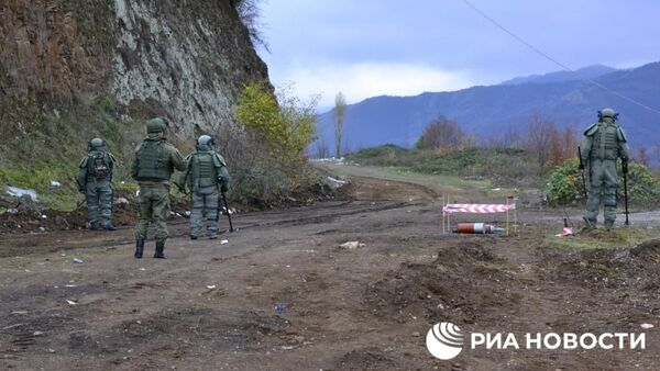 Руски сапери у Карабаху - Sputnik Србија