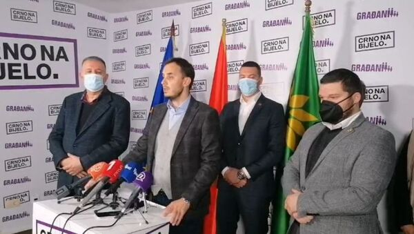 Извршни директор Грађанског покрета УРА Зоран Микић - Sputnik Србија