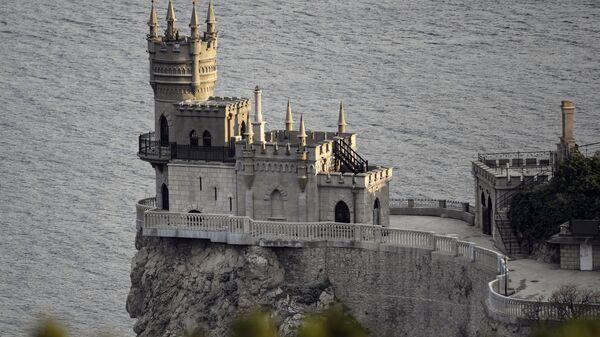 Замак Ластино гнездо на Криму - Sputnik Србија