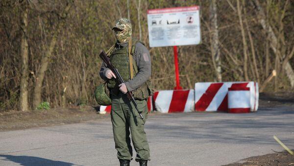 Vojnik DNR, Donbas - Sputnik Srbija
