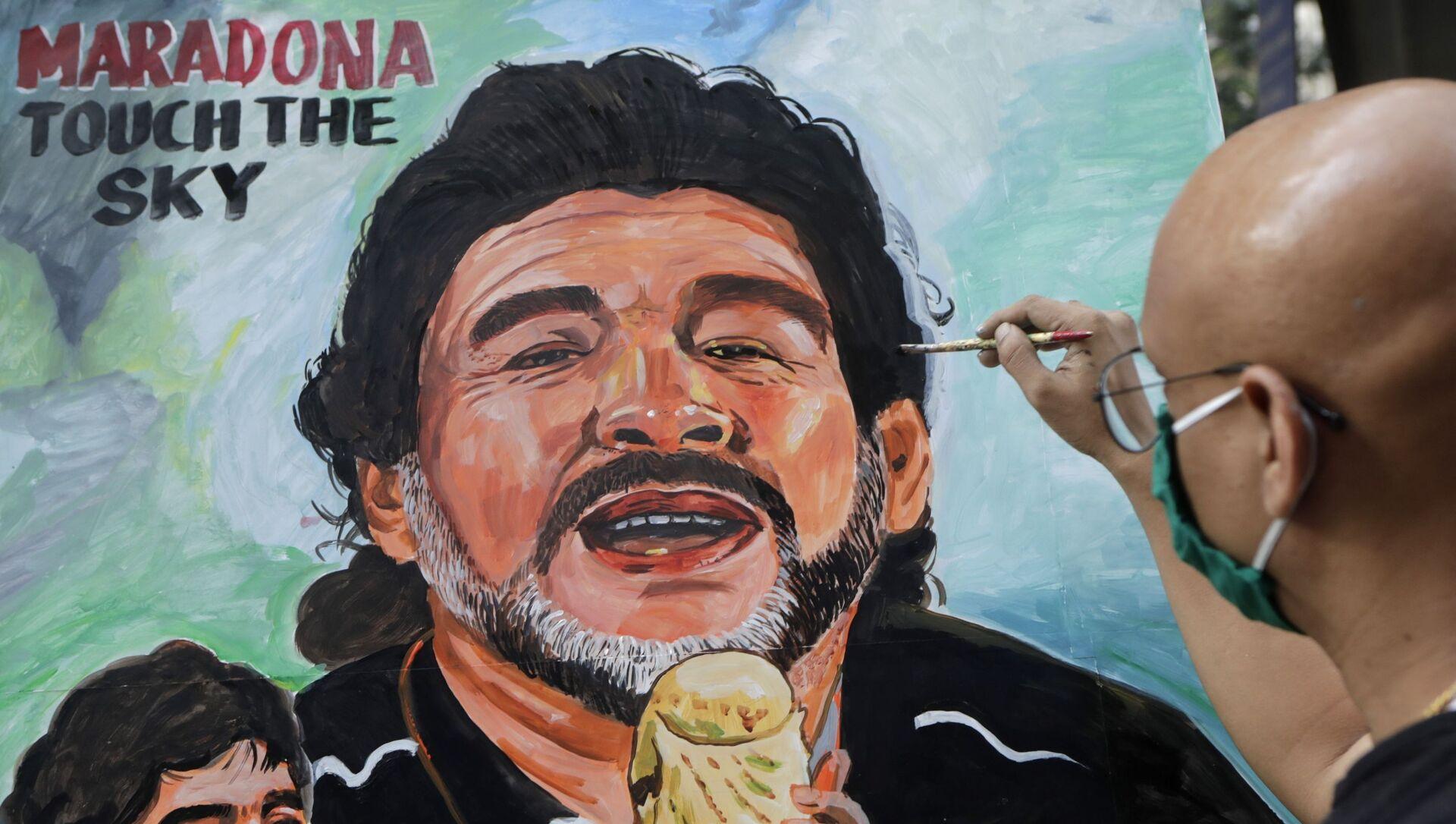 Dijego Armando Maradona - Sputnik Srbija, 1920, 09.02.2021