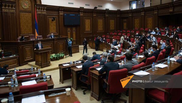 Sednica parlamenta u Jerevanu - Sputnik Srbija