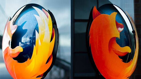 """Логотип браузера """"Мозила фајерфокс"""" - Sputnik Србија"""