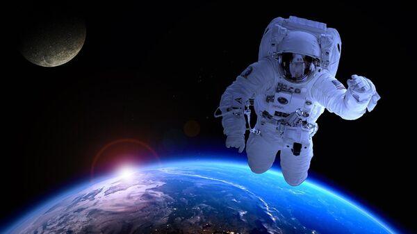 Astronaut u kosmosu - Sputnik Srbija