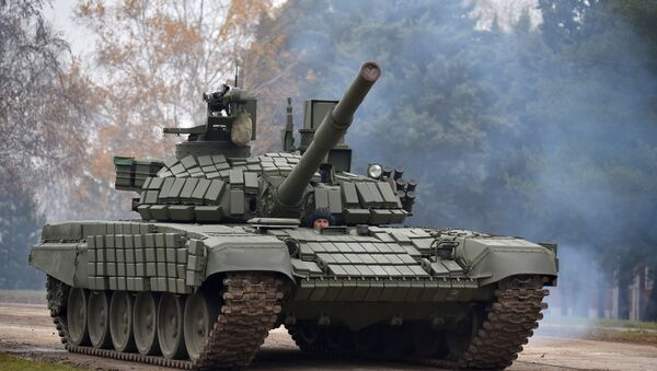 Тенк Т-72МС - Sputnik Србија