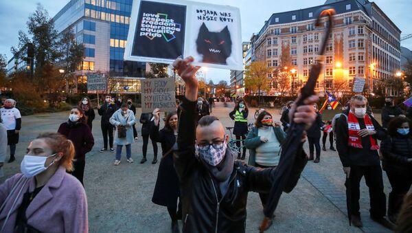Протести у Белгији - Sputnik Србија