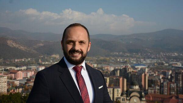 Milan Radojević novi gradonačelnik severne Mitrovice na Kosovu i Metohiji - Sputnik Srbija