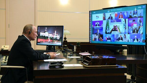 Руски председник Владимир Путин на самиту Г20 - Sputnik Србија