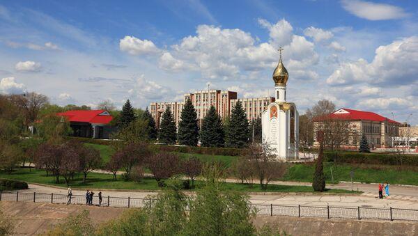 Pogled na zgradu vlade u pridnjestrovskom Tiraspolju - Sputnik Srbija