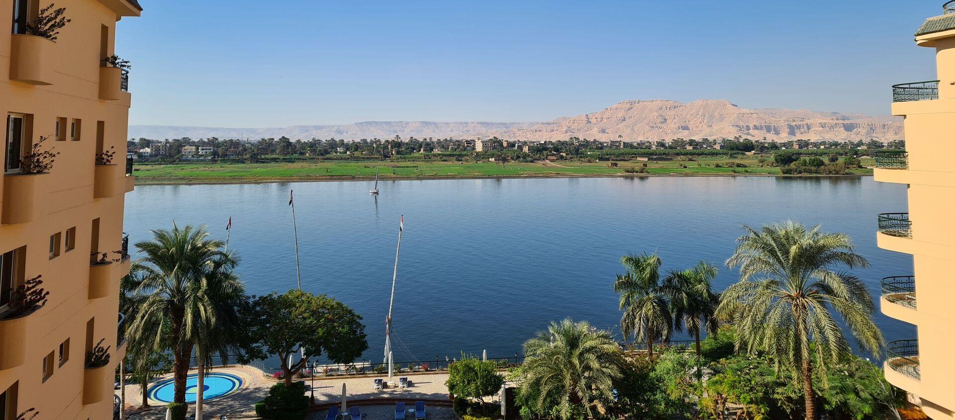 Pogled na reku Nil u Luksoru - Sputnik Srbija, 1920, 26.06.2021