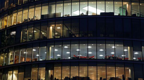 Празне канцеларије у згради - Sputnik Србија