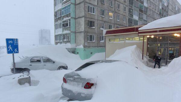 Norilsk zatrpan snegom - Sputnik Srbija