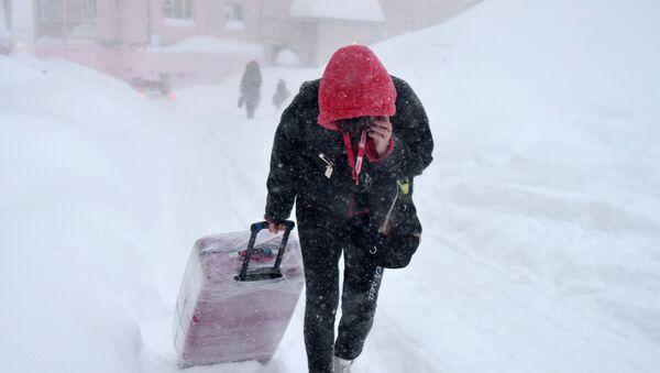 Sneg, vejavica - Sputnik Srbija