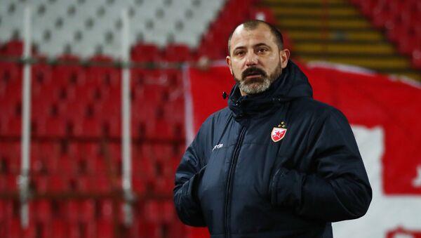 Trener Crvene zvezde Dejan Stanković na meču protiv Hofenhajma - Sputnik Srbija