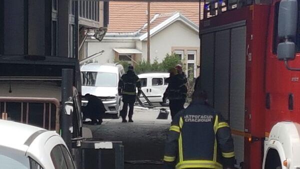 Spasilački timovi brzo su stigli na mesto eksplozije - Sputnik Srbija