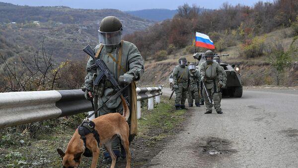 Деминирање терена у Карабаху - Sputnik Србија
