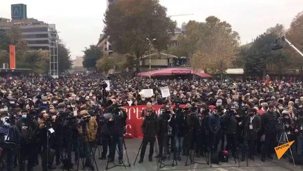 Protesti u Jerevanu, 5. decembar - Sputnik Srbija