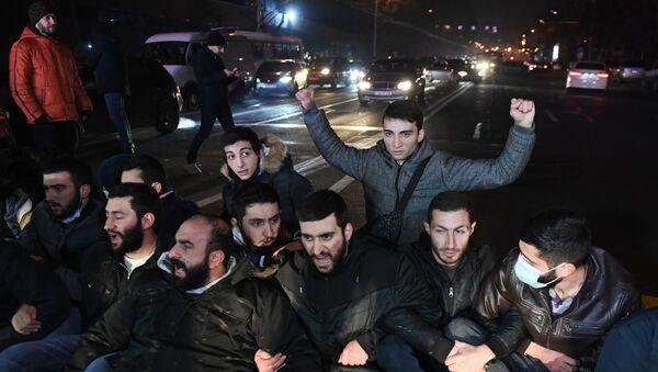 Protest opozicije u Jermeniji - Sputnik Srbija