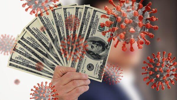 Долари и вирус корона - Sputnik Србија
