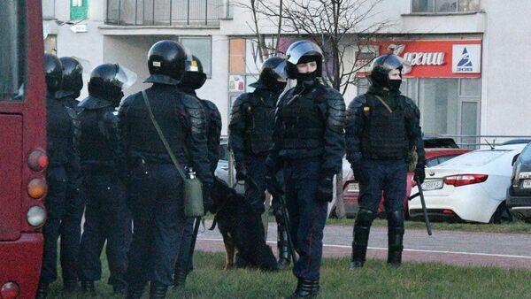 Policija u Minsku, Belorusija - Sputnik Srbija