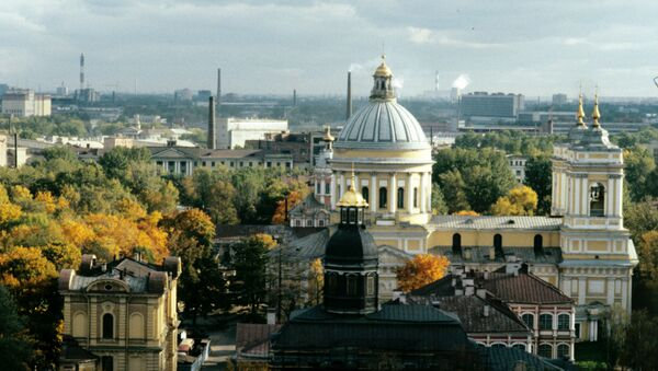 Manastir Aleksandra Nevskog u Sankt Peterburgu - Sputnik Srbija