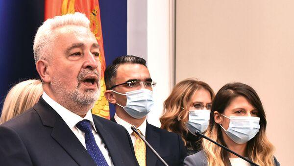 Premijer Crne Gore Zdravko Krivokapić i ministri - Sputnik Srbija