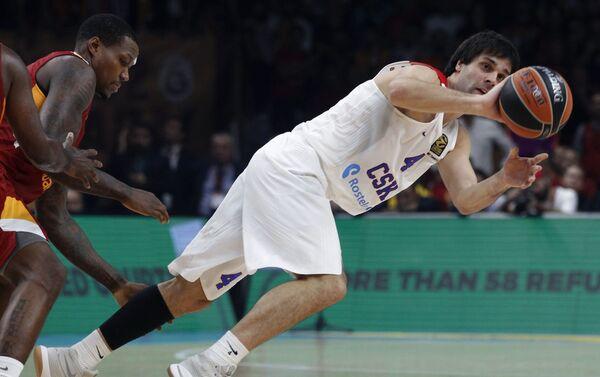 Teodosić je bio MVP finala 2016. godine, treći je najbolji asistent u istoriji, kao i 11. strelac svih vremena. - Sputnik Srbija