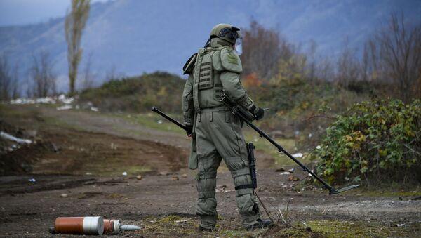 Деминер руских мировних снага у Нагорно-Карабаху - Sputnik Србија