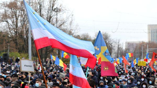 Protesti u Kišnjevu, Moldavija. - Sputnik Srbija