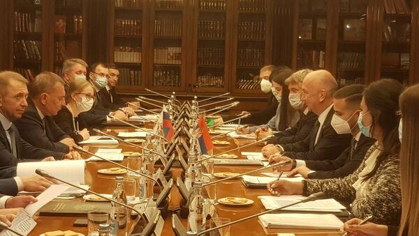 Sastanak Međuvladinog komiteta za trgovinsko-ekonomsku i naučno-tehničku saradnju Srbije i Rusije - Sputnik Srbija