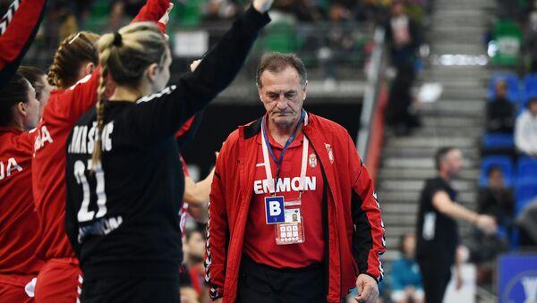 Selektor rukometašica Srbije Ljubomir Obradović - Sputnik Srbija