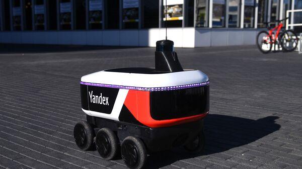 Јандекс ровер: робот за достављач - Sputnik Србија