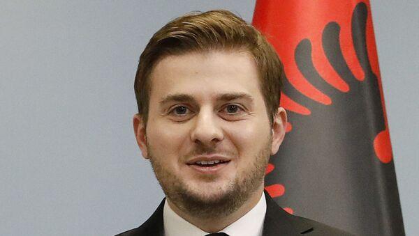 Гент Цакај, министар спољних послова Албаније - Sputnik Србија