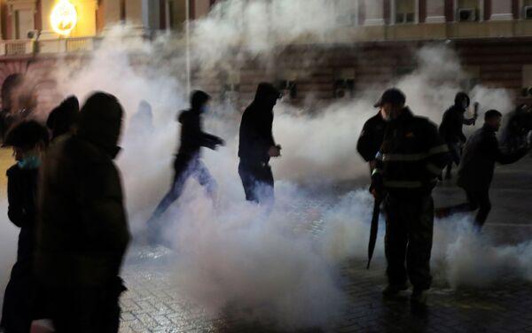 Protesti u Tirani - Sputnik Srbija