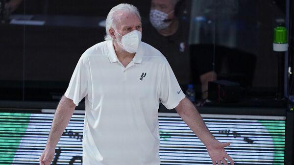 Greg Popovič, trener San Antonio Sparsa - Sputnik Srbija