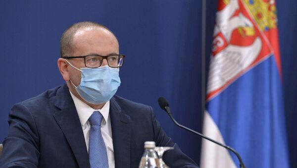 Покрајински секретар за здравство Зоран Гојковић - Sputnik Србија