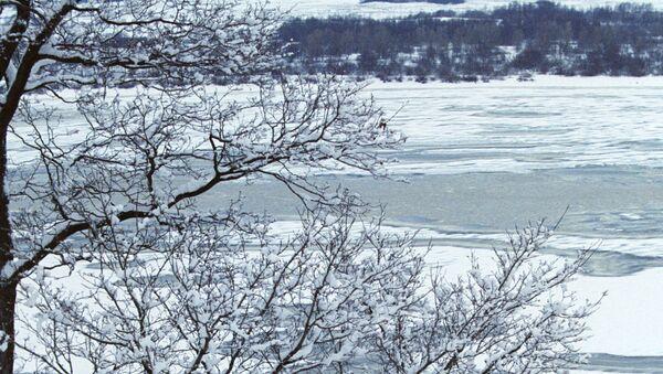 Reka Volga zimi - Sputnik Srbija
