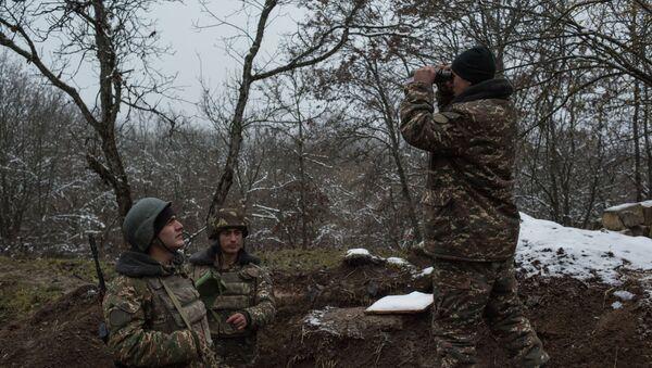 Војне снаге Нагорно Карабаха - Sputnik Србија