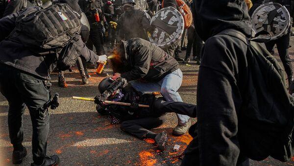 Sukobi na protestima u Vašingtonu - Sputnik Srbija