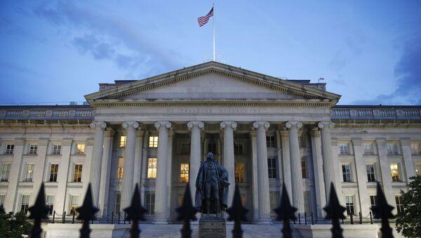 Zgrada američkog Ministarstva finansija u Vašingtonu - Sputnik Srbija