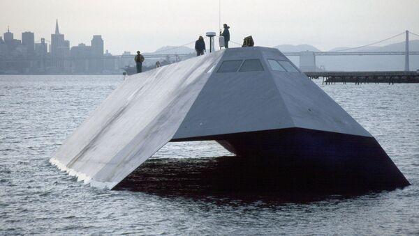 """Невидљиви брод """"Морска сенка"""" америчке морнарице - Sputnik Србија"""
