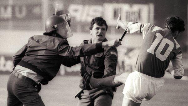 Sukobi na utakmici Crvena zvezda – Dinamo Zagreb - Sputnik Srbija