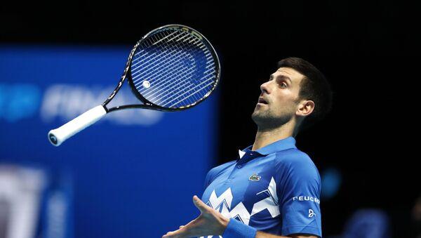 Novak Đoković na turniru u Londonu - Sputnik Srbija