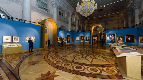 Отварање изложбе Рафаелова линија. 1520-2020 у Ермитажу - Sputnik Србија